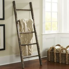 Pottery Barn Rustic Ladder - BestProducts.com