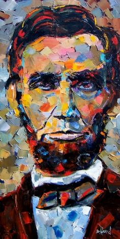 http://www.dailypainters.com/paintings/186704/Abraham-Lincoln-Art-Oil-Painting-by-Debra-Hurd/
