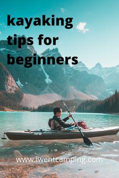 Kayak Paddle, Canoe And Kayak, Camping Essentials List, Camping Hacks, Kayak For Beginners, Kayaking Tips, Ultralight Backpacking, Winter Hiking, Ice Climbing