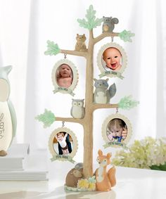 Look at this #zulilyfind! Brown & Green Tree Milestone Frame #zulilyfinds