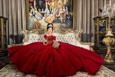 Estilo Isabela offers some of the best and newest quinceanera dresses from Mexico and the US. Mariachi Quinceanera Dress, Mexican Quinceanera Dresses, Quinceanera Planning, Quinceanera Themes, Xv Dresses, Debut Dresses, Quince Dresses, Girls Dresses, Charro Dresses