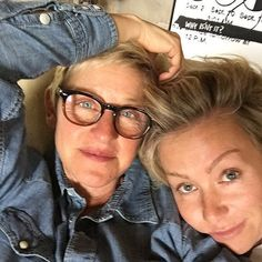 Cute Portia de Rossi and Ellen DeGeneres Pictures | POPSUGAR Celebrity