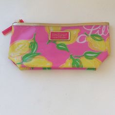 Lilly Pulitzer make up case Lilly Pulitzer patent make up case. We all know how cute these are! Lilly Pulitzer Accessories