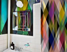 Inspiration pour la salle de douche / toilette - Papier peint Circus de Cole and son