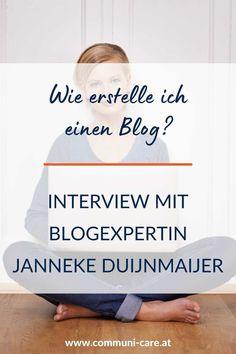 Das Interview mit Blogexpertin Janneke Duijnmaijer ist eine kompakte Anleitung zum Thema Bloggen für Anfänger und beantwortet Fragen zu Blog Aufbau, Blog Strategie, erfolgreich bloggen, vermeidbare Fehler beim Bloggen, was ein Blog überhaupt bringt, wie oft du bloggen solltest und vieles mehr.
