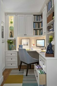 30 Corner Office Designs and Space Saving Furniture Placement Ideas ...