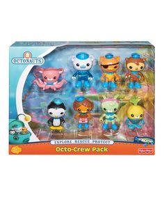 Love this Octonauts Octo-Crew Figurine Set on #zulily! #zulilyfinds