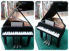Piano en goma eva.  #manualidades #handmade #piano