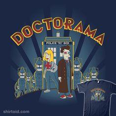 Doctorama on shirtoid.com