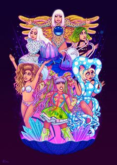 Farewell ArtRave. A new era awaits, but these beautiful memories will last forever. Artpop Ball lives on. | Helen Green