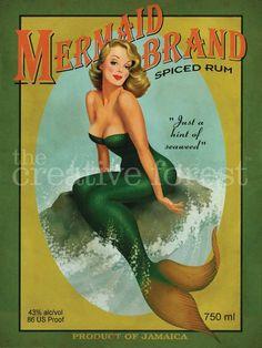 Mermaid in advertising