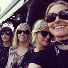 The Coolest Brunch In The History Of Brunch. Amy Poehler! Carrie Brownstein! Kim Gordon! Aimee Mann! This actually happened.