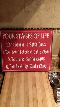 I don't believe in Santa, and I don't teach kids to, either. But I DO believe this funny.