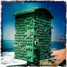 Life Guard Mail Box, La Jolla, California