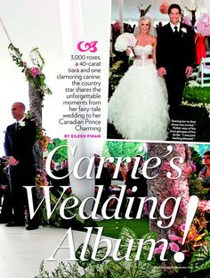 Carrie Underwood's wedding at The Reynolds Plantation