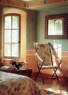 Beautiful Tuscan Color Scheme : In Tuscan color palettes hues of deep sky blue, celadon green, earthy ...