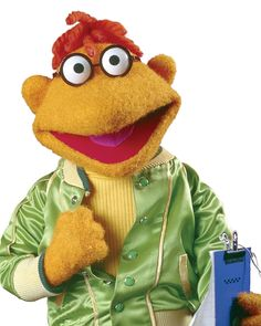 Scooter: Stage Manager Muppet