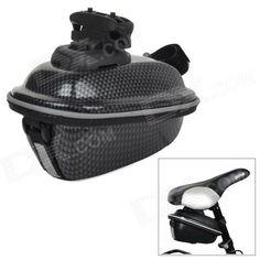BIV V08 Cycling Ultrathin Hard ABS Bike Saddle Storage Bag w/ Mount - Black Price: $22.90