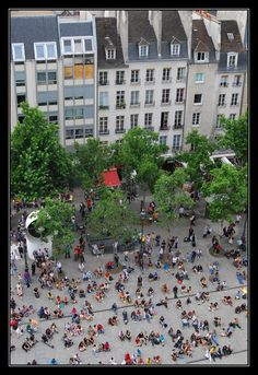 A Paris View - Paris, Ile-de-FranceA Paris view from the Centre Pompidou