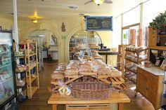 Huge Bakery area \\ all the best smells. Petit Chat Bakery- Spokane, WA