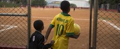 What the World Cup Looks Like to a Refugee Child