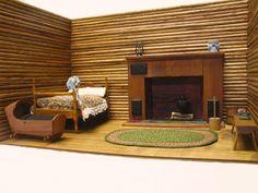 Small Cabin Interior Wall Ideas