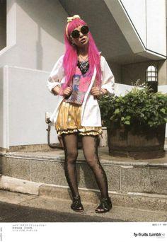FuckYeahFRUiTS Japanese Streets, Japanese Street Fashion, Fruits Magazine, Punk, Kawaii, Street Style, Swag, Outfits, Clothes