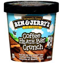 Ben & Jerry's Heath Bar Crunch Ice Cream