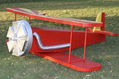 How to make an 8 foot styrofoam airplane for VBS
