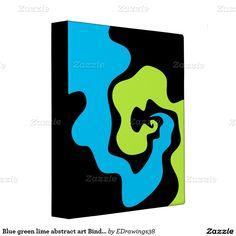 #Blue #green #lime #abstract art #Binder