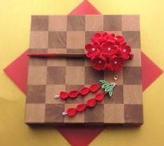 浴衣に合う!!はんなり紅色小花のブーケ木製かんざし(取り外し可能な垂飾り付き)