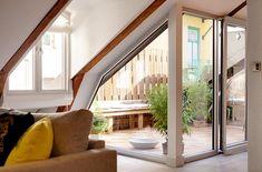 Loft Conversion - roof balcony