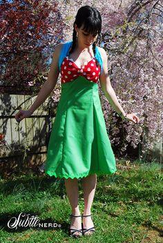 A Piranha Plant Dress That Won't Eat You