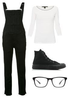 """Mila's casual wear"" by pantsulord on Polyvore featuring Weekend Max Mara, Ksubi, Converse and Joseph Marc"