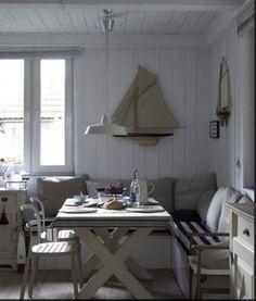 Scandinavian Country Style - Norwegian country eating nook