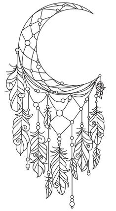 Dream catcher drawing Color Coloring pages to print Coloring pages Dream catcher tattoo Coloring books pin by benson burns on great items coloring bullet journals and bu. Free Adult Coloring, Printable Adult Coloring Pages, Cute Coloring Pages, Coloring Pages To Print, Coloring Books, Coloring Pages For Grown Ups, Dream Catcher Coloring Pages, Dream Catcher Drawing, Dream Catcher Tattoo