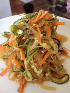 Kelp Noodle Salad! Trying to eat more kelp noodles instead of pasta:)