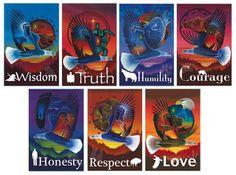 Seven sacred teachings.