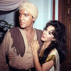 """Elvis Presley & Mary Ann Mobley, March 1965 