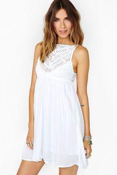 Cruel Summer Crochet Dress