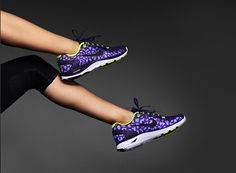 Pop of purple. #nike #shoes #lunarglide