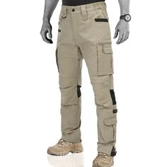 Hardland Tactical Pants Hiking Ripstop Trousers Tactical Pants, Combat Pants, Khaki Pants, Hiking, Trousers, Stretch Fabric, How To Wear, Walks, Trouser Pants