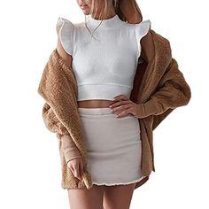 Keaac Womens Casual Multi-Pocket Outerwear Maxi Hoodies Sweatshirt Outwear Coat