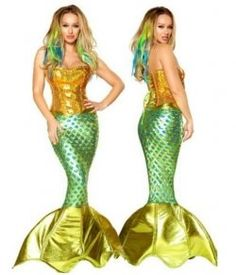 Next faire project... mermaid skirt with a corset.