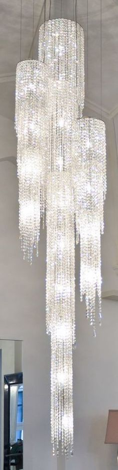 Manooi Fjord Chandelier LBV ~Wealth and Luxury ~Grand Mansions, Castles, Dream Homes Luxury homes Luxury Chandelier, Chandelier Lighting, Crystal Chandeliers, Crystal Lights, Chandelier Crystals, Crystal Palace, Lamp Light, Light Up, White Light