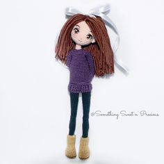 Hi~ I'm Jojo~❤️❤️❤️ #鉤針娃娃 #amigurumi #embroidery