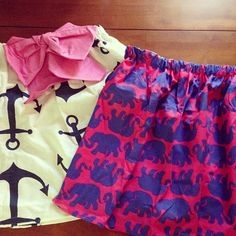 missprimpedcharm:  New skirts from @Just {PreppyPinkShop}  so amazing #lillypulitzer #anchor #anchorobsessed