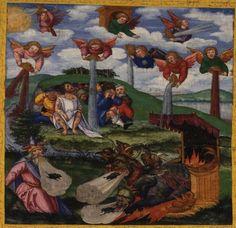 Las siete copas.Ottheinrich Bibel. S. XVI.  Valeria Espinosa