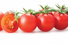 Cherry tomatoes, Tomato is an important source of certain minerals (like potassium and magnesium). From its vitamins include B1, B2, B5 and C. It also presents carotenoids such as lycopene (the pigment that gives tomatoes characteristic red color). Vitamin C and lycopene are antioxidants with a protective function of the human organism. During the summer months, the tomato is one of the main sources of vitamin C.