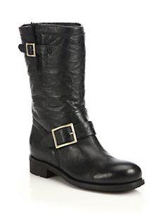 Jimmy Choo - 24/7 Biker Leather Boots